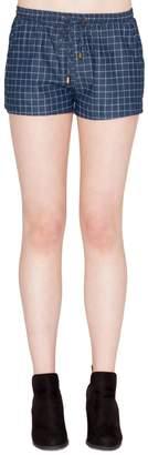Tcec Checkered Shorts