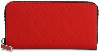 Christian Louboutin Panettone Embossed Logo Rubber Wallet