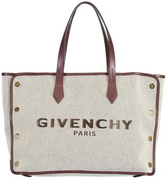 Givenchy Aubergine Bond Medium Shopper Bag
