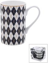 Mikasa Gift Mugs Argyle Mug