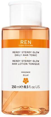 REN 250ml Ready Steady Glow Aha Tonic Toner