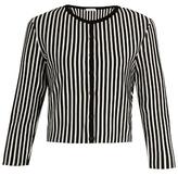Tomas Maier Stripe-intarsia round-neck cardigan
