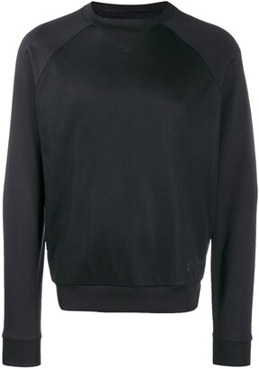 Ermenegildo Zegna Slim-Fit Contrast Sweatshirt