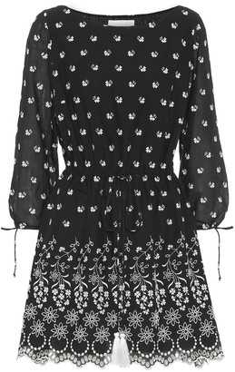 Athena Procopiou Moonbeams embroidered cotton dress
