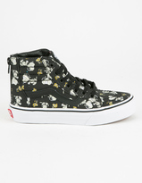 Vans x PEANUTS Glow Mummies Sk8-Hi Zip Kids Shoes