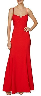 Laundry by Shelli Segal Bustier Gown
