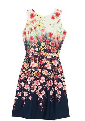 Tash + Sophie Floral Princess Seam Sleeveless Dress
