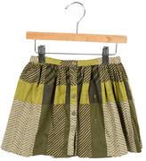 Burberry Girls' Printed A-Line Skirt