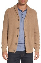 Nordstrom Men's Chunky Rib Shawl Collar Cardigan