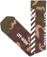 Off-White Diagonals Camouflage Cotton Socks