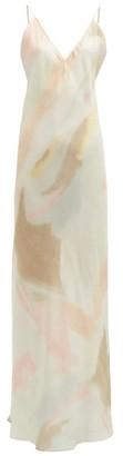 Rat & Boa - Liberty Pastel Tie-dye Slip Dress - Multi