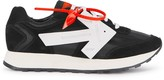 Off White Off-White HG Runner Black Grosgrain And Suede Sneakers