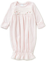 Edgehill Collection Baby Girls Newborn-6 Months Lace Detailed Gown