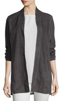 Eileen Fisher Fisher Project Soft Suede Kimono Jacket, Cinder