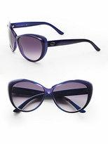 Gucci Plastic Cat's-Eye Sunglasses