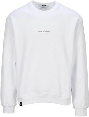 MSGM estati Danimo Print Sweatshirt