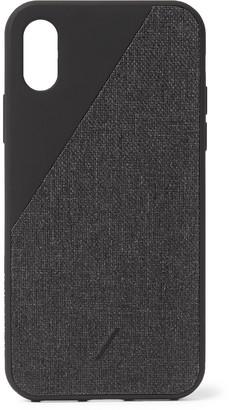 Native Union Clic Canvas Iphone X/xs Case