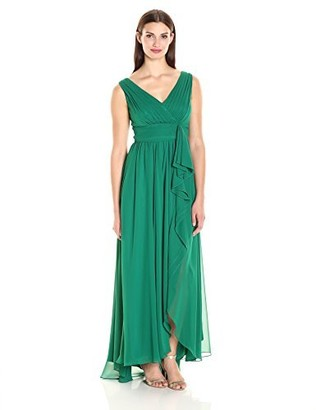 Brinker & Eliza Women's Surplus Bodice Gown (Regular & Petite)