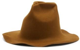 Reinhard Plank Hats - Spaventa Felt Hat - Brown