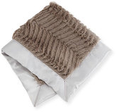 Swankie Blankie Ziggy Security Blanket, Slate