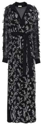By Malene Birger Fil Coupe Silk-blend Crepe De Chine Maxi Dress