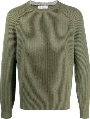 Brunello Cucinelli Thick Knitted Jumper