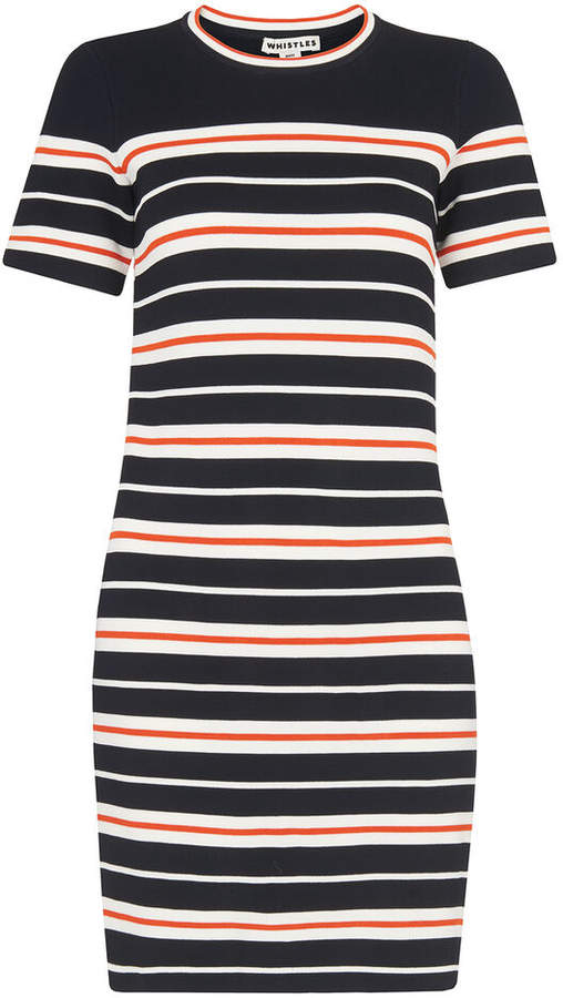 in stock good looking autumn shoes Whistles Stripe Dress - ShopStyle UK