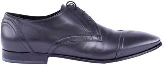 John Galliano Black Leather Lace ups