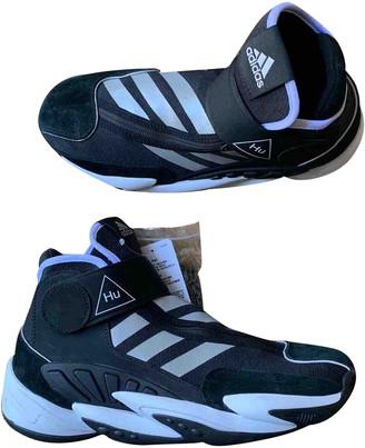 Adidas X Pharrell Williams Black Cloth Trainers