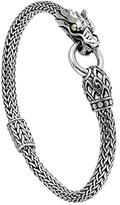 John Hardy Legends Naga 5mm Station Bracelet (Silver/18K Gold) Bracelet
