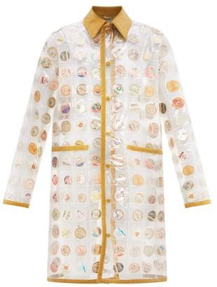 Bode - Milk-cap Pvc Rain Coat - Womens - Multi