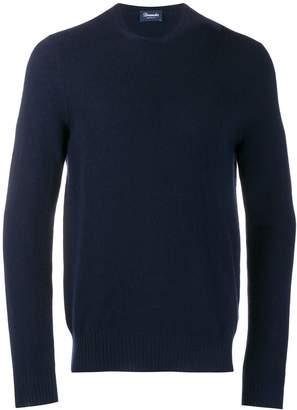 Drumohr slim-fit cashmere sweater