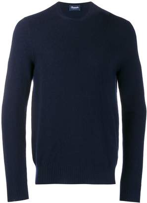 Drumohr Slim-Fit Cashmere Sweater