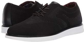 Ben Sherman Nu Flyknit Casual Wingtip (Black) Men's Lace Up Wing Tip Shoes