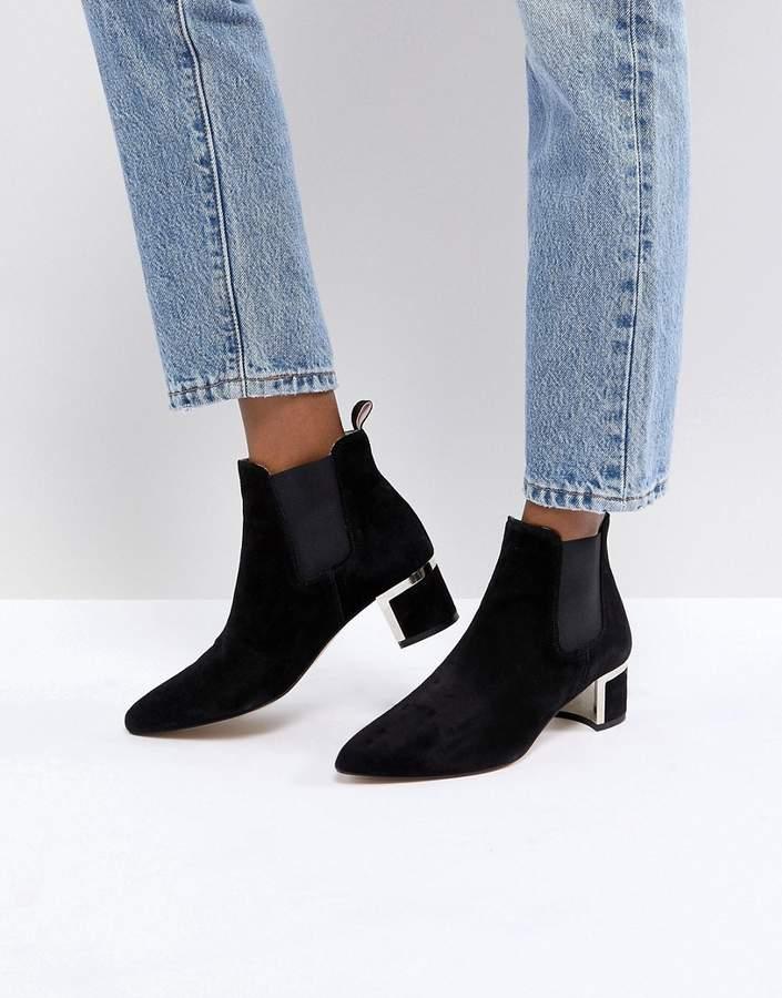 Gestuz Ankle Boots with Block Heel
