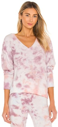 Wildfox Couture BBJ Deep V Sweatshirt. - size L (also
