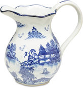 AA Importing Blue Willow Pitcher