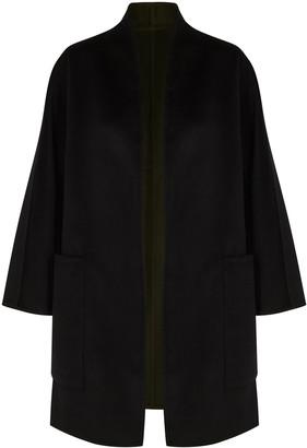 Vince Black Reversible Wool-blend Jacket