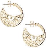 Anna & Ava Openwork Hoop Earrings