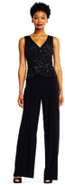 Adrianna Papell AP1E201490 Sequined Jersey Jumpsuit