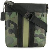 Coach camouflage messenger bag