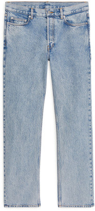 Arket LOOSE Snow Wash Jeans