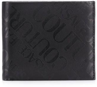 Versace Logo-Print Bifold Wallet