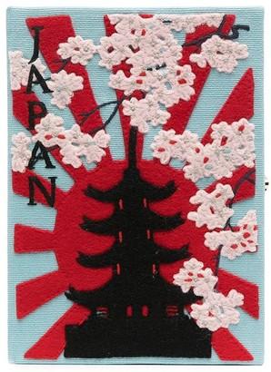 Olympia Le-Tan Japan book clutch