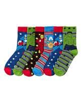 Marvel Avengers Pack of Six Socks