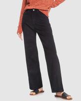 Roxy Womens Essential Thing Wide Leg Cord Pants