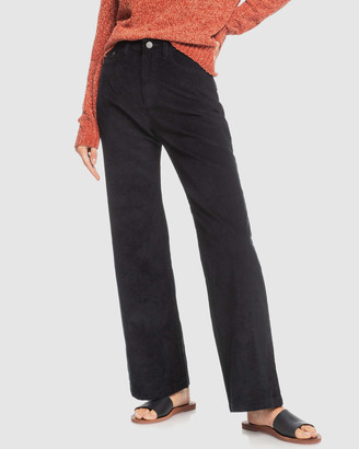 Roxy Womens Essential Thing Wide Leg Cord Pants