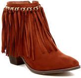 Liliana Cyrus Fringe Boot