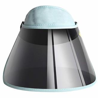 Millya UK Sun Visor Hats Foldable Sun Hats Women Large Brim Summer UV Protection Cap Beach Cap(Blue)