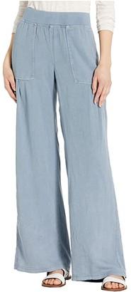 XCVI Ennis Pants in Tilda Twill (Lagoon Blue) Women's Casual Pants